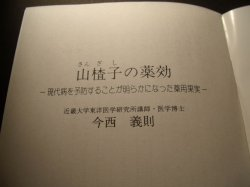 画像3: 小冊子 「山楂子(さんざし)の薬効」ー現代病を予防することが明らかになった薬用果実ー